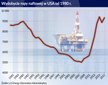 USA zwiększają wydobycie ropy, ale rynku nie uspokoją