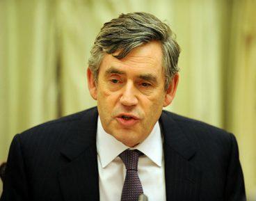 Gordon Brown CC By NC ND Downing Street