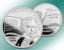 Fryderyk Skarbek, ojciec ekonomii polskiej, na monecie NBP