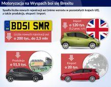 Brytyjski przemysł samochodowy obawia się Brexitu