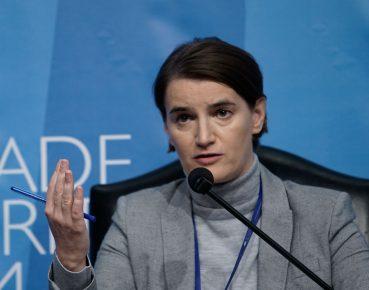 Serbia premier Ana Brnabic CC By NC ND Belgrade Security Forum