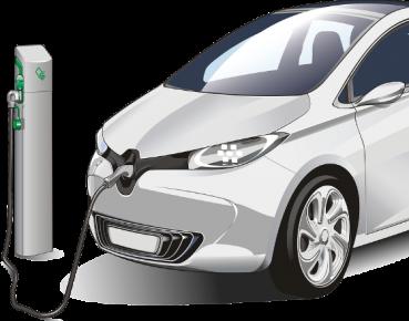 auto elektryczne CC0 Pixabay