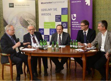 Debata NBP Ministrowie finansow Fot NBP