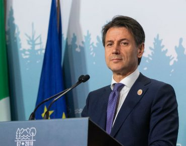 Giuseppe Conte premier Wloch CC By NC ND G7Charlevoix