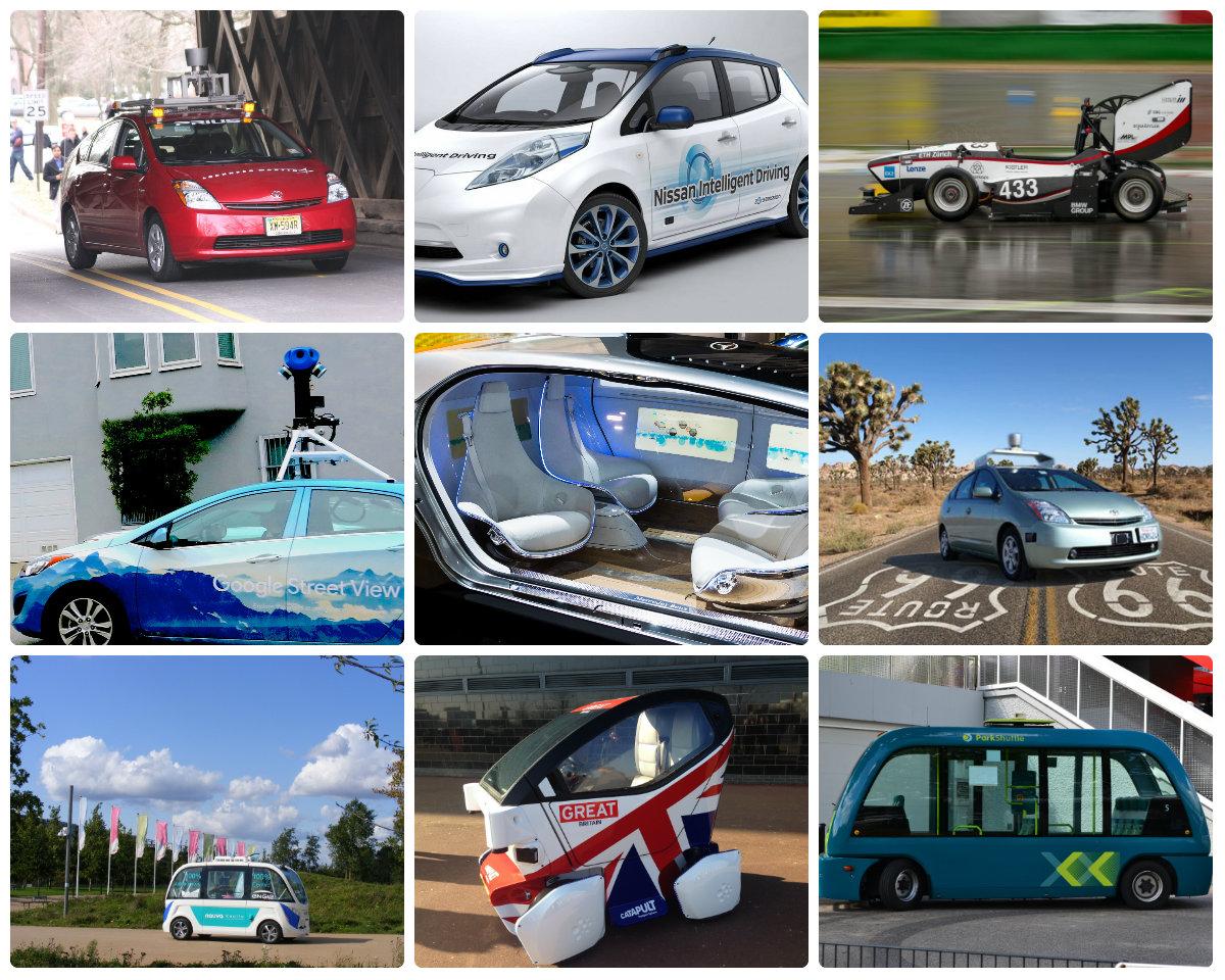 driverless bez kierowcy (C GmanViz, DfT UK, Sludge G, Sam Churchill, The NRMA, Paradasos, Thomas Meier, Melody Joy Kramer)