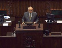 Prezes NBP w Sejmie: Inflacja umiarkowana, koniunktura korzystna