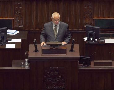 prezes A Glabinski Sejm fot NBP