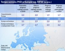 MFW: Przed wzrostem w Europie same przeszkody