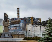 Na Ukrainie Czarnobyl co krok