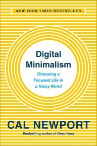 Digital Minimalism - okładka