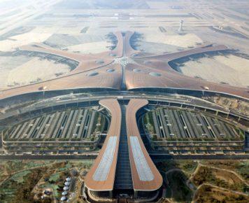 Góralczyk_Chiny_70-lecie_Nowy port lotniczy Daxing między Pekinem a Tianjinem Chiny_pap