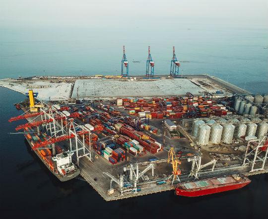 Ukraińskie porty czekają na inwestycje