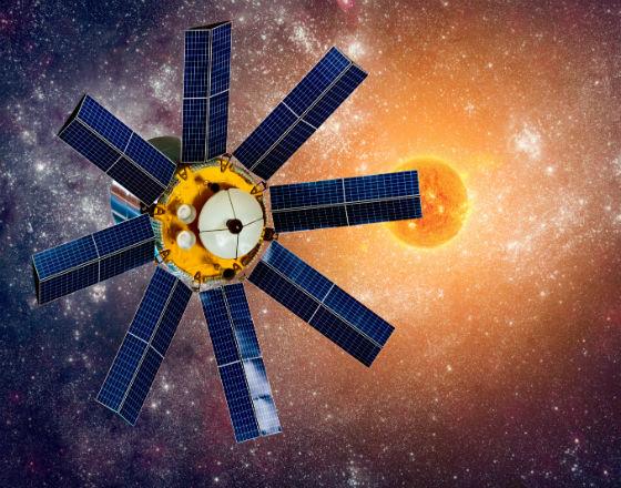 Azjatycki internet z satelity