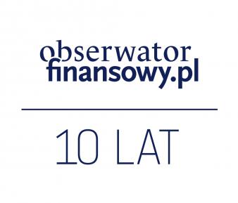 Obserwator Finansowy ma 10 lat