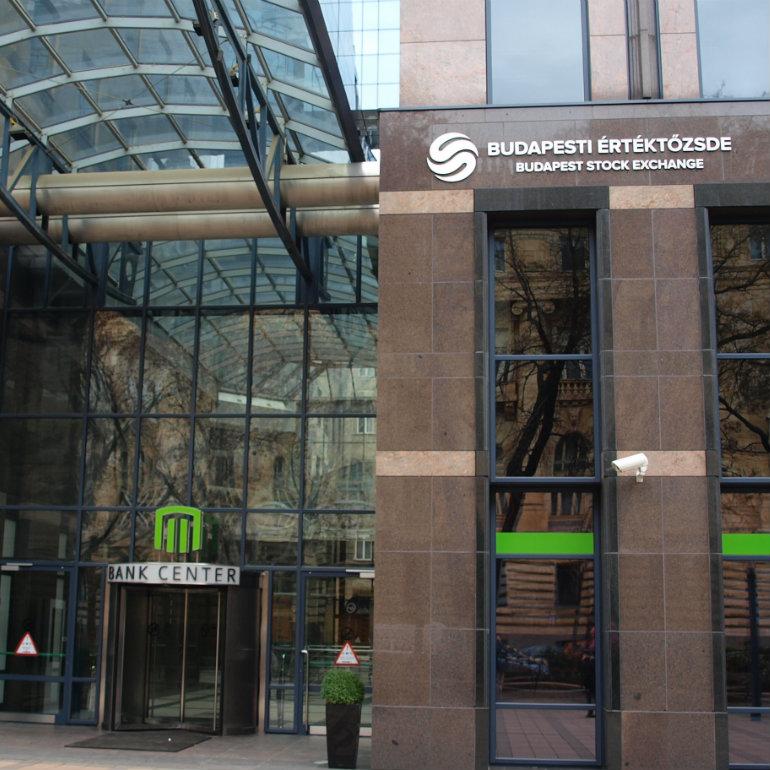 Budapest Stock Exchange kwadrat