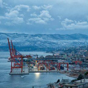 Croatia Rijeka port kwadrat