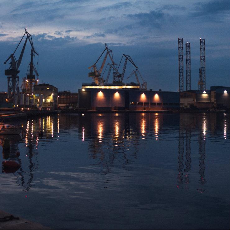The breakdown of Croatian biggest shipyards