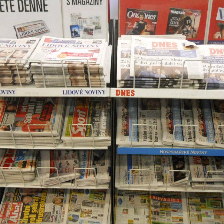Czech media firmly in domestic hands