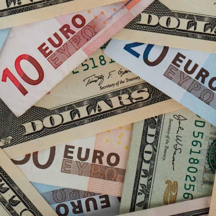 EUR vs USD square