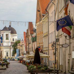 Estonia Tallinn kwadrat