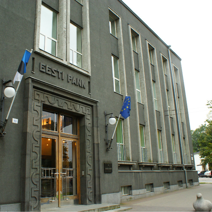 Estonia central bank headquarters kwadrat