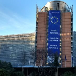 European Commission headquarters Brussels kwadrat