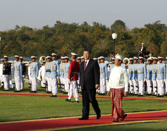 Chiny bardziej obecne w Birmie