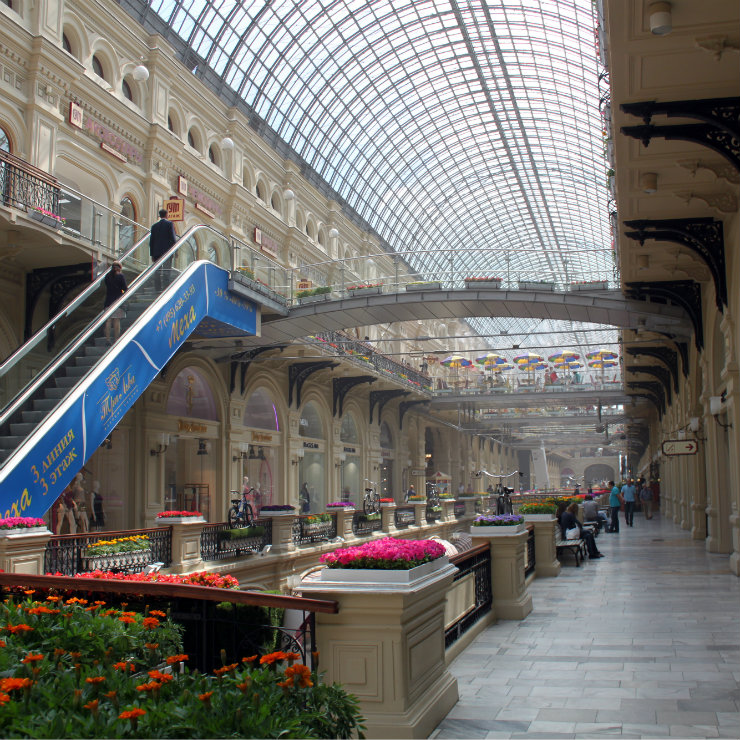GUM Moscow square