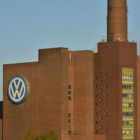 Germany Volkswagen headquarters square
