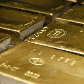 Gold bars square