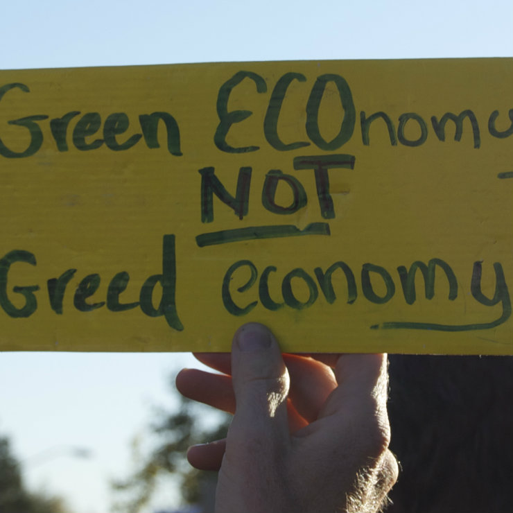 Green economy square