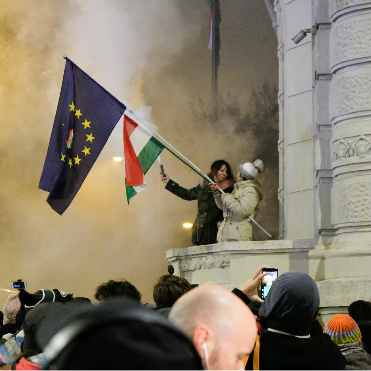 The strikes in Hungary that did not take place