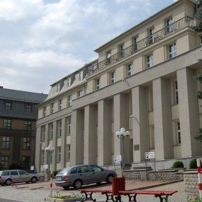 Kompania Weglowa headquarters kwadrat