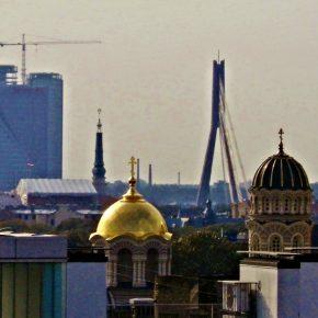 Latvia Riga 1 kwadrat