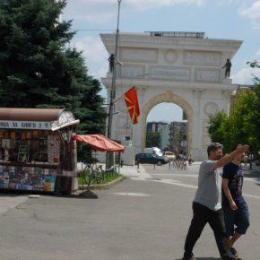 Macedonia skopje kwadrat