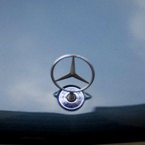 Mercedes logo kwadrat