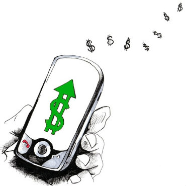 Smartphones in the fight with a financial exclusion