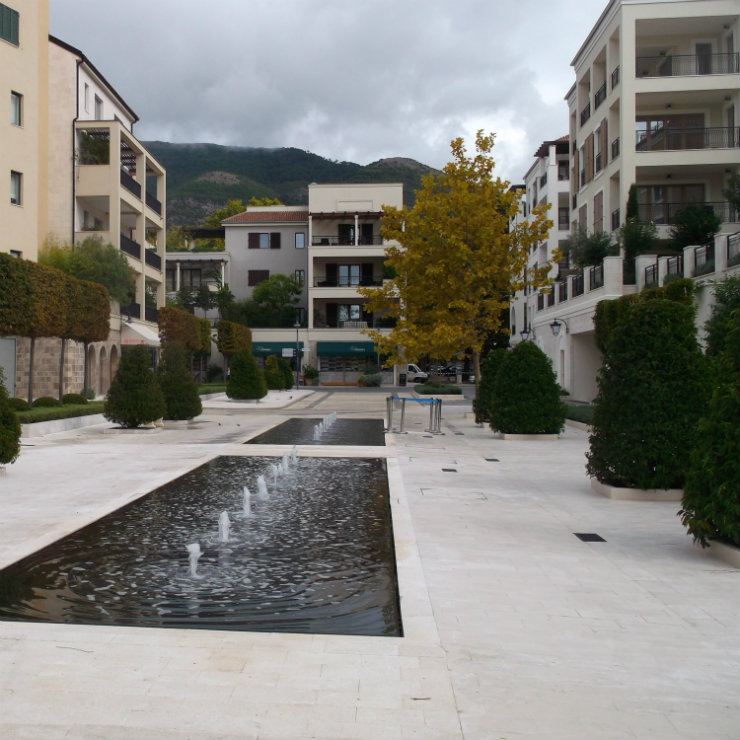 Montenegro new dwelling square