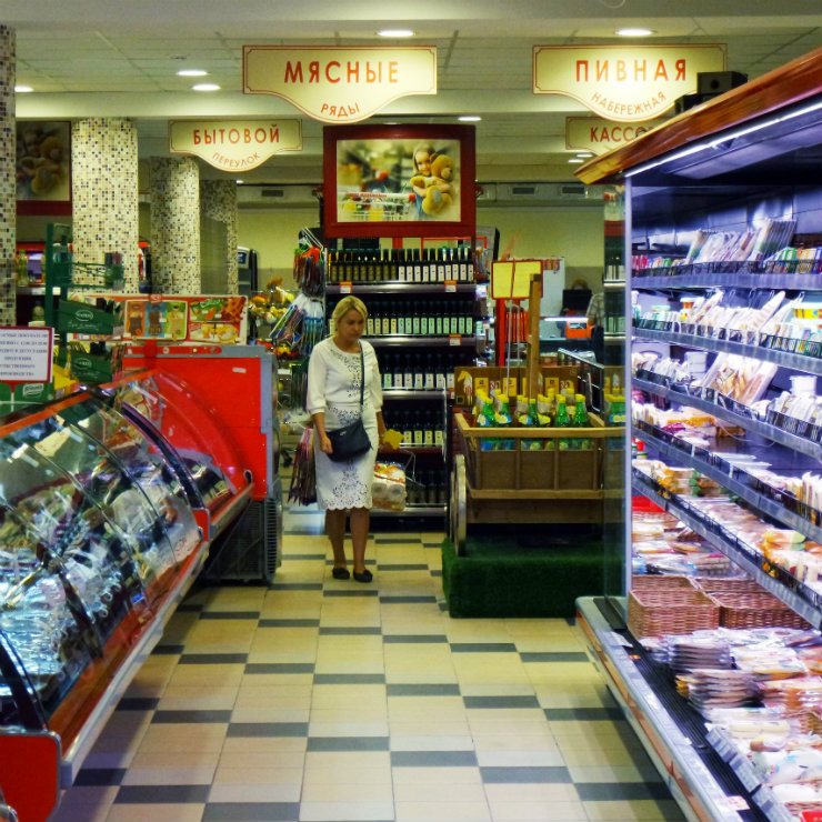 The embargo has transformed the Russian food market
