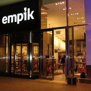 Poland Empik bookstore kwadrat