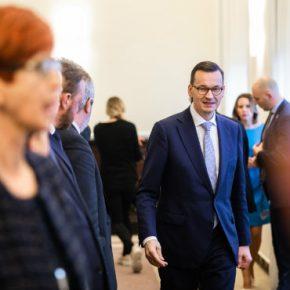 Poland Morawiecki government kwadrat