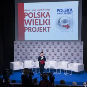 Poland Szydlo Wielki projekt kwadrat