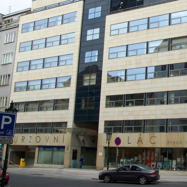 Prague Stock Exchange kwadrat