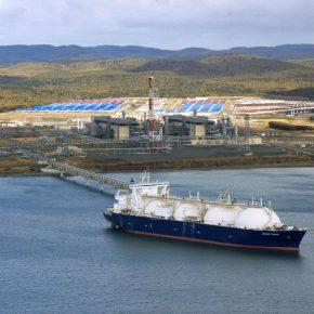 Russia Sakhalin LNG kwadrat