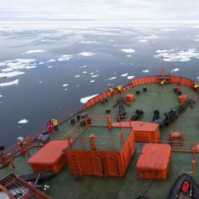 Russia arctic sea ship kwadrat