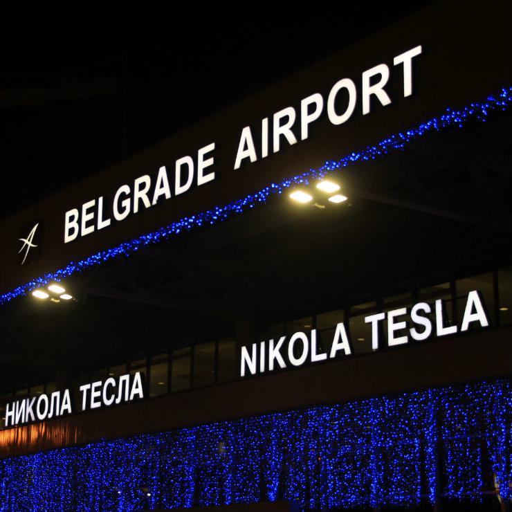 "Privatization of Belgrade's ""Nikola Tesla"" airport"