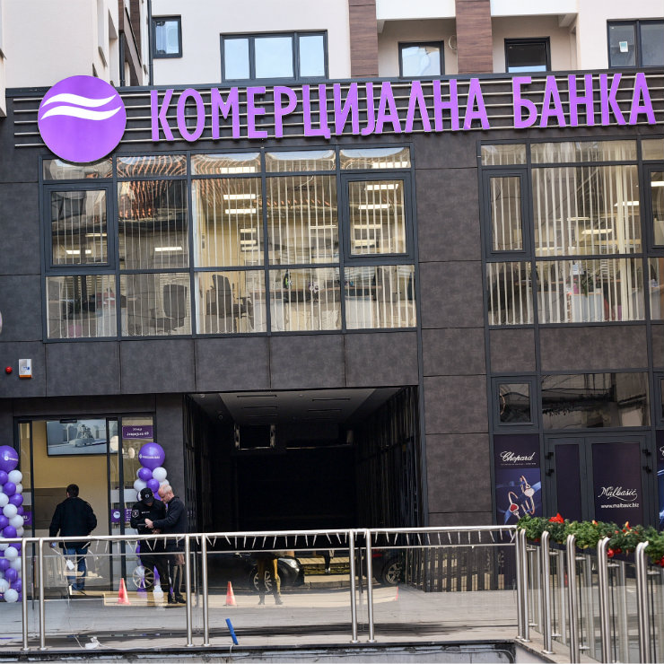 Serbia's komercijalna banka finished 2018 with the best results