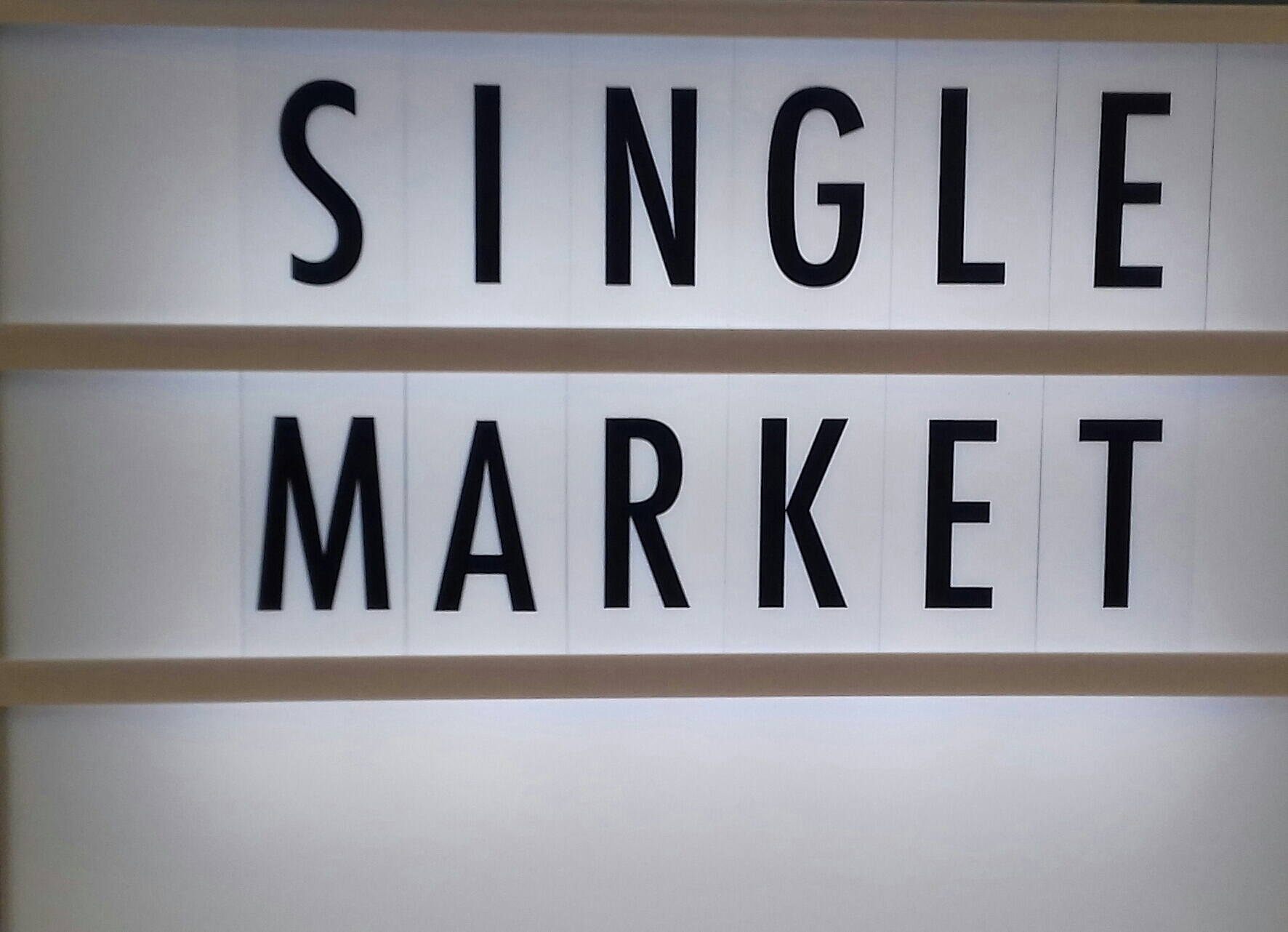 Beneficial changes in the EU single market