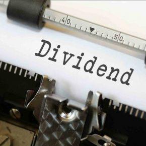 Stock dividend 2 square