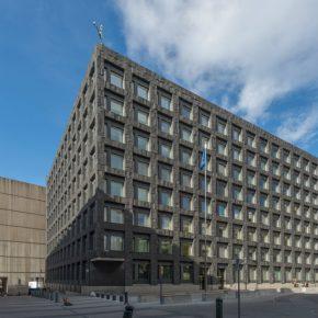 Sweden central bank headquarters kwadrat